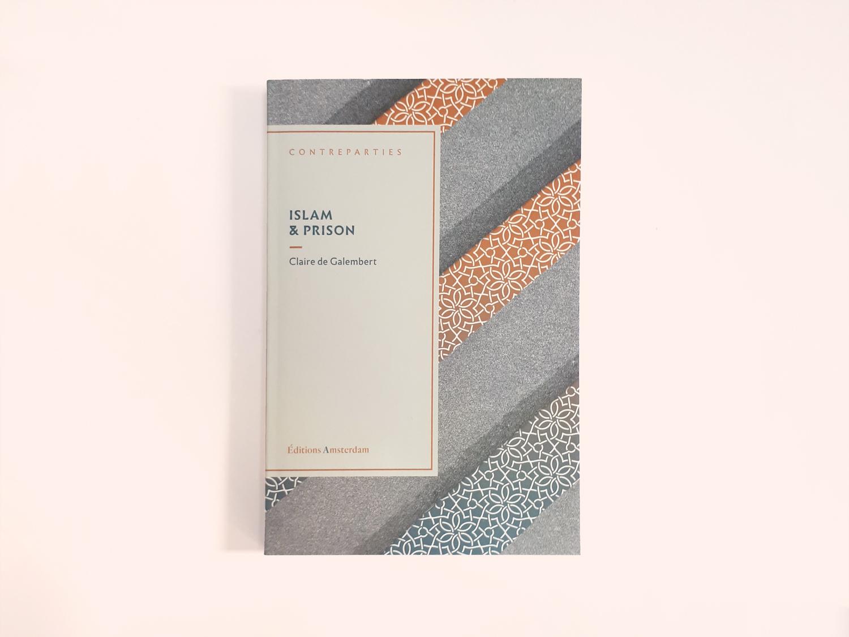 Conception graphique des couvertures de la collection Contrepartie des éditions Amsterdam. Première de couverture du titre Genre et Féminismes de Abir Krefa et Amélie Le Renard